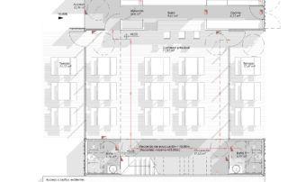 Edificación Modular desmontable destinada a local de restauración