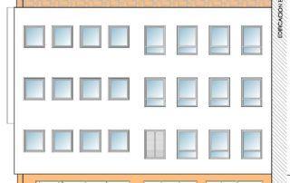 Rehabilitación de envolvente térmica edificio Casa Digna