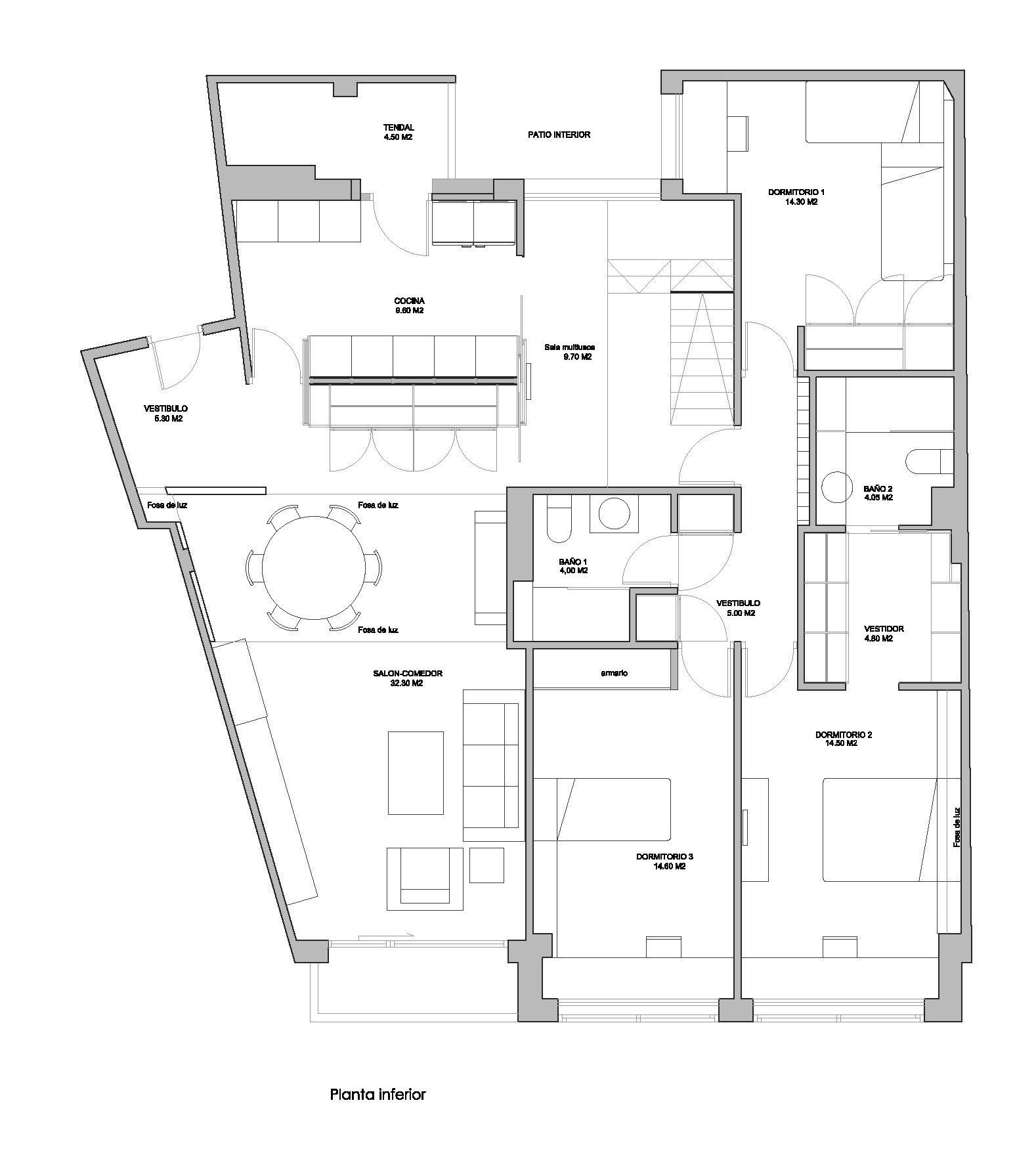 ampliación de vivienda rua oliva